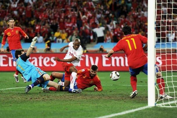 Switzerland 1, Spain 0