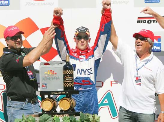 Mario, Michael and Marco Andretti