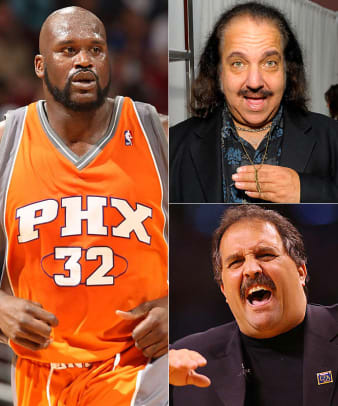 Ron Jeremy and Shaquille O'Neal