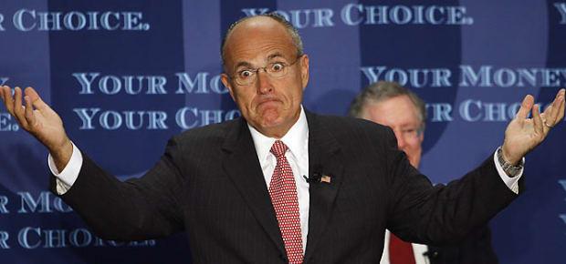Rudy Giuliani, presidential contender