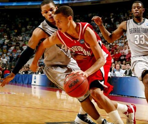Davidson 74, Georgetown 70   2008 NCAA second round