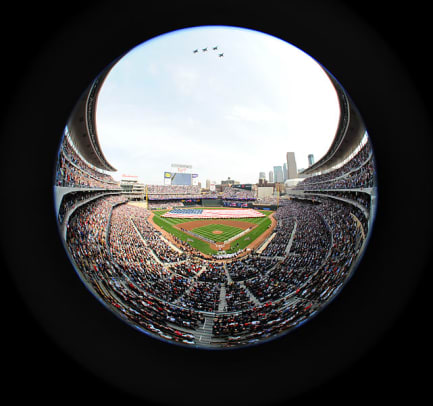Target Field opens: April 12