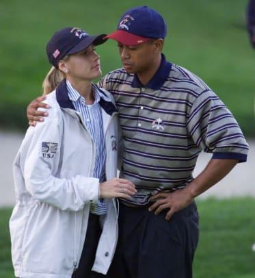 Tiger Woods and Joanna Jagoda