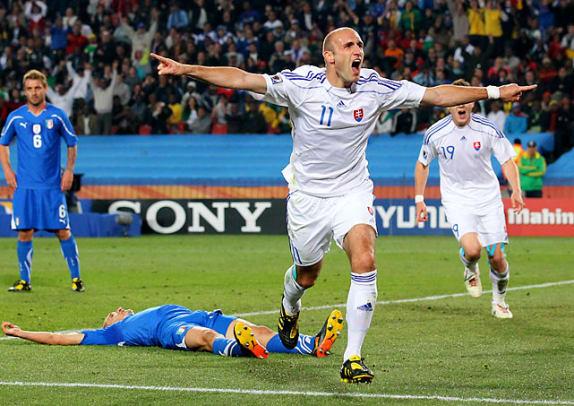 Slovakia 3, Italy 2