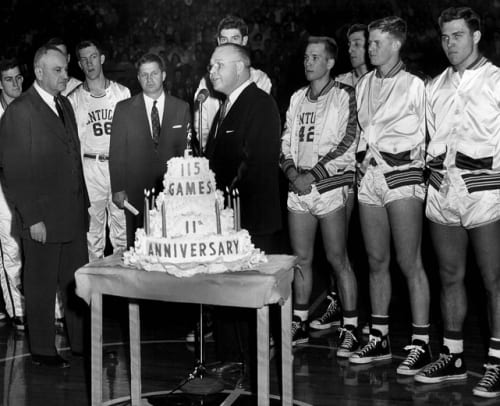 Adolph Rupp and Wildcats