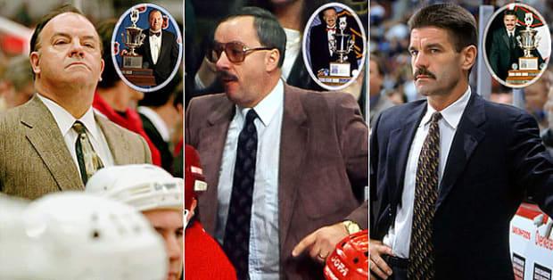 Scotty Bowman, Jacques Demers, Bob Francis