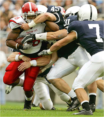 (25) Penn State 37, Youngstown State 3