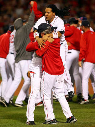 2007 ALCS, Red Sox defeat Indians