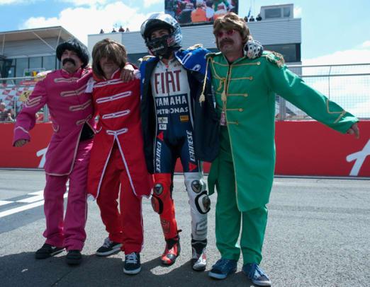 Jorge Lorenzo and Beatles Fans