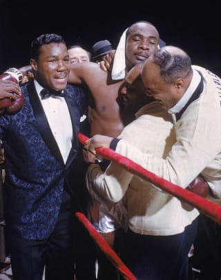 Sonny Liston and Floyd Patterson