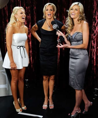 Natalie Gulbis, Dara Torres and Erin Andrews
