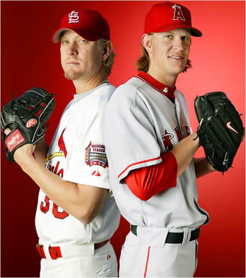 Jeff and Jered Weaver