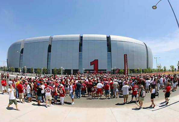 University of Phoenix Stadium's exterior