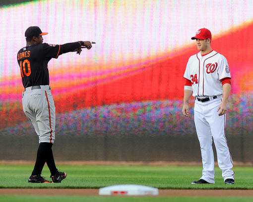 Orioles 2, Nationals 1 <br> 11 innings