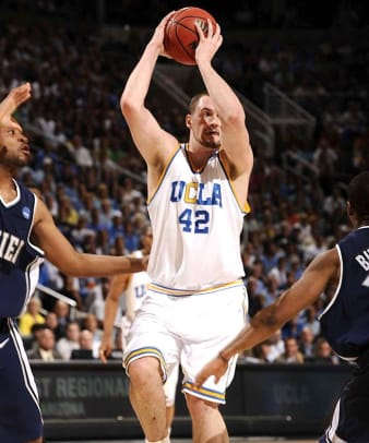 (1) UCLA 76, (3) Xavier 57