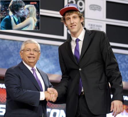 Jan Vesley Kiss at NBA Draft