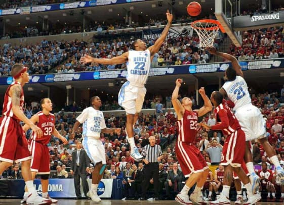 North Carolina 72, Oklahoma 60