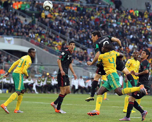 South Africa 1, Mexico 1