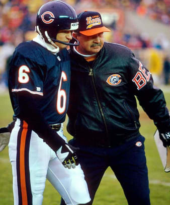 Kevin Butler and Mike Ditka