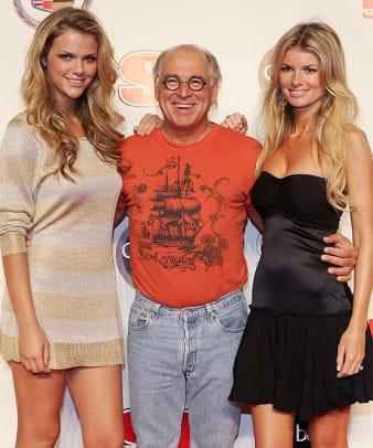 Brooklyn Decker, Jimmy Buffett and Marisa Miller