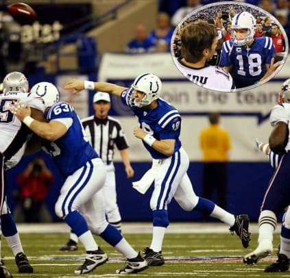 2006: Colts 38, Patriots 34