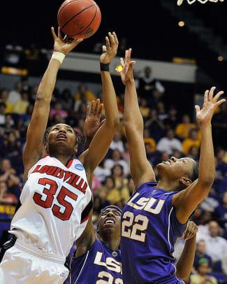 No. 3 Louisville tops No. 6 LSU