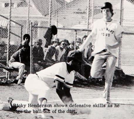 Rickey Henderson, Class of 1976