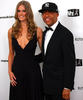 Julie Henderson and Russell Simmons