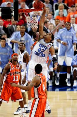 North Carolina 75, Illinois 70 | 2005 NCAA title game