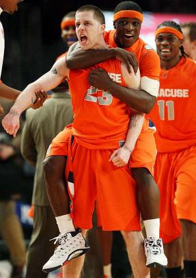 Syracuse 127, UConn 117 (6 OT) | 2009 Big East tournament