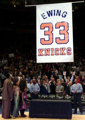 Knicks Retire Number
