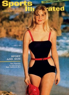 1965 Cover featuring Sue Peterson
