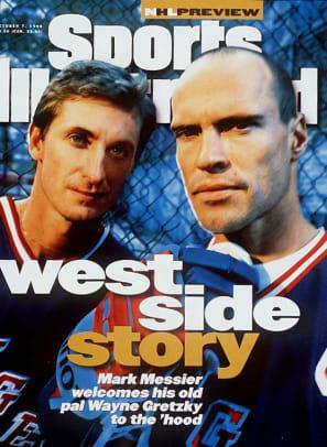 Wayne Gretzky and <br>Mark Messier