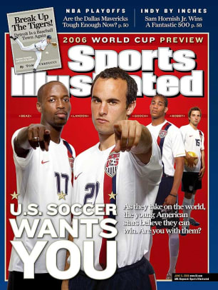 DaMarcus Beasley and Landon Donovan
