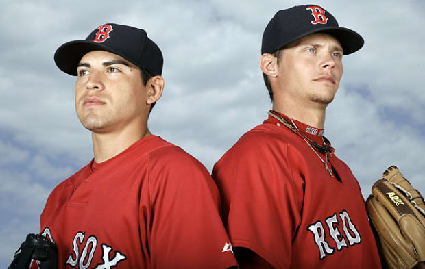 Jacoby Ellsbury and Clay Buchholz
