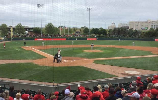 Friday game 1 baseball Nebraska vs Michigan 2021