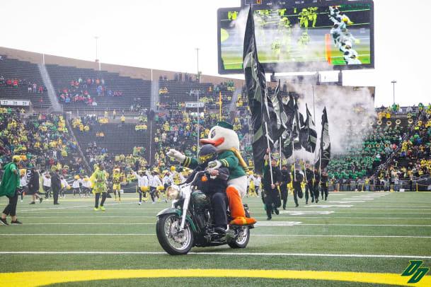 Oregon Duck Motorcycle Pregame