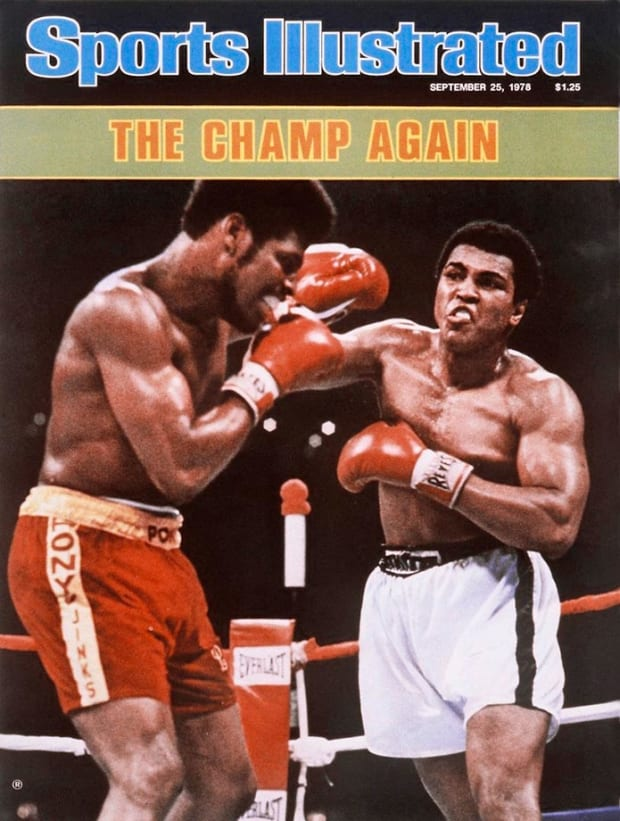 SI Vault: Ali a champ again after beating confused Spinks - Sports Illustrated