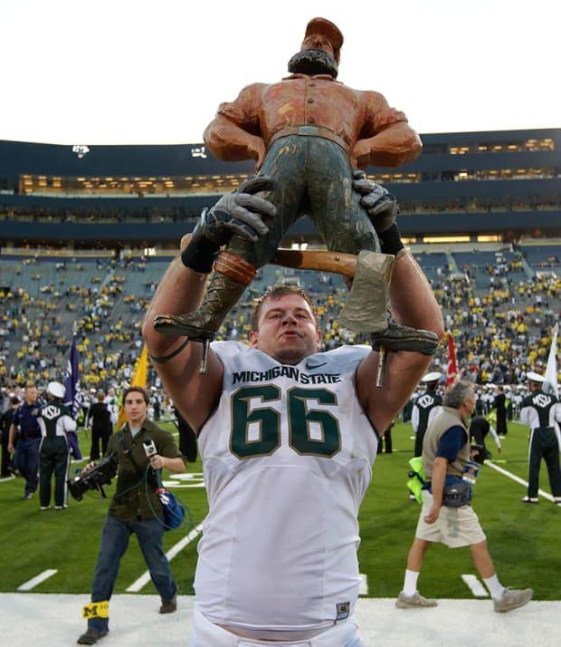 Ranking College Football S Unusual Trophies Si Com