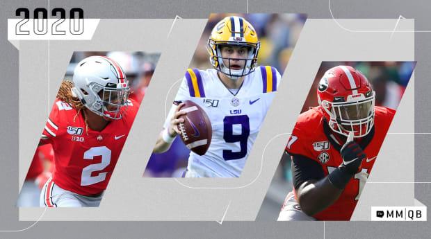 New Orleans Saints Draft Picks 2020.2020 Nfl Mock Draft Joe Burrow To The Bengals Sports