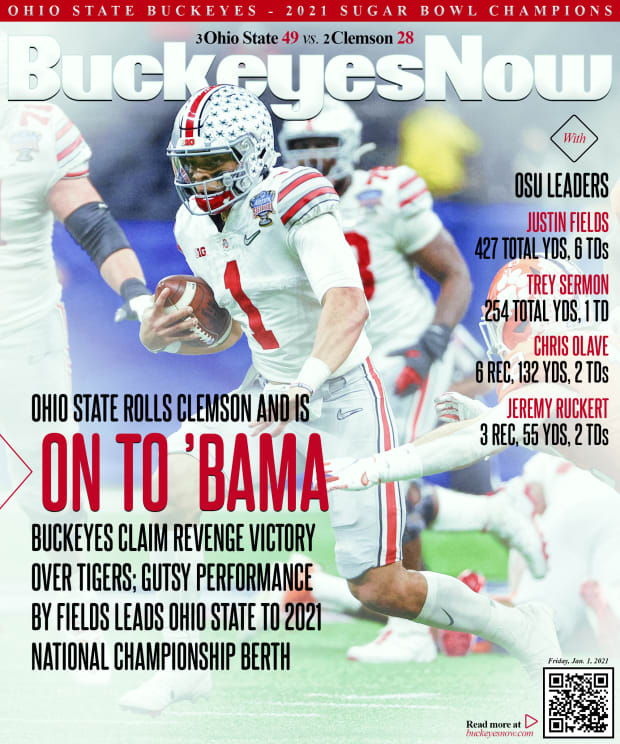 Ohio State Rewrites Story with Convincing CFP Semifinal Win over Clemson -  Sports Illustrated Ohio State Buckeyes News, Analysis and More