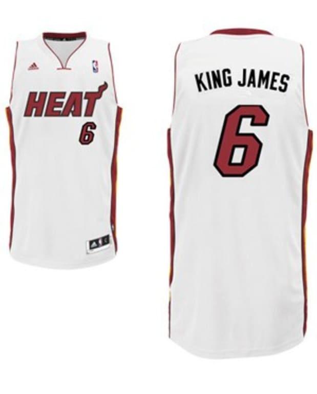 Heat unveil 'nickname jerseys' for LeBron James, Dwyane Wade, Ray ...