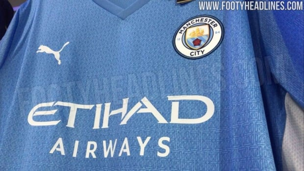 Leaked: Manchester City 2021/2022 home kit featuring Sergio Aguero ...