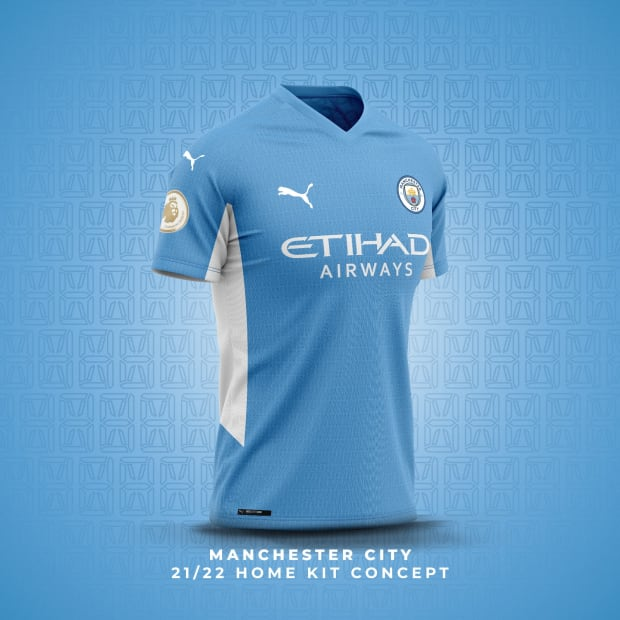 Exclusive: How Manchester City's 2021/2022 Kits Are Expected To ...