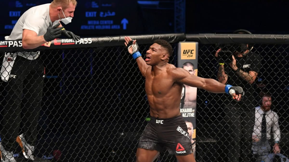 <label><a href='https://www.mvpboxing.com/news/mma/57276/The-Future-Is-Bright-for-Joaquin-Buckley' class='headline_anchor'>The Future Is Bright for Joaquin Buckley</a></label><br />Middleweight UFC fighter Joaquin Buckley won by K.O. against Impa Kasanganay with a crazy sidekick t