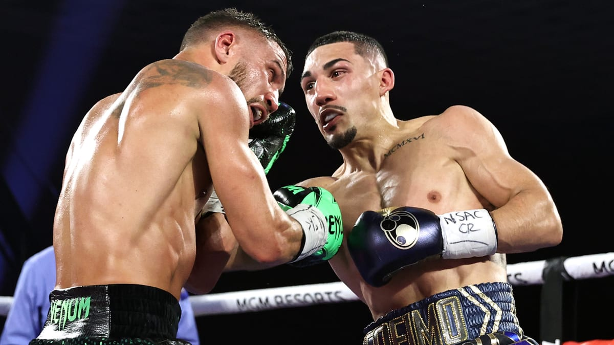 <label><a href='https://www.mvpboxing.com/news/boxing/34426/Lopez-Backs-Up-His-Dads-Trash-Talk-to-Complete-His' class='headline_anchor'>Lopez Backs Up His Dad's Trash Talk to Complete His 'Takeover' and Claim the Undisputed Lightweight </a></label><br />Teofimo Lopez upset Vasiliy Lomachenko on Saturday to clean up a mess his father started two years a
