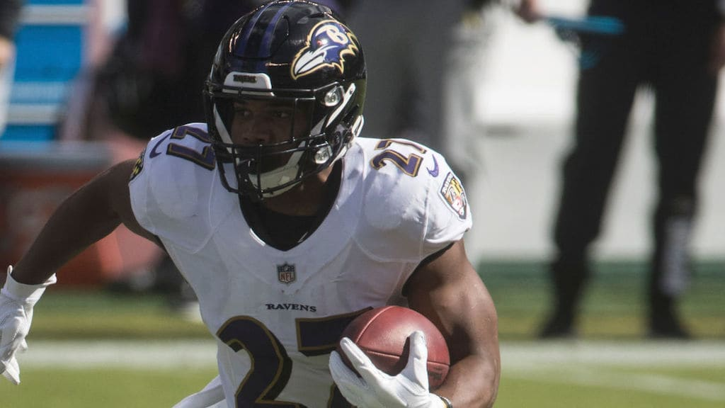 Fantasy Football Buy Low: Week 8 - The J.K. Dobbins Train is About to Leave the Station image