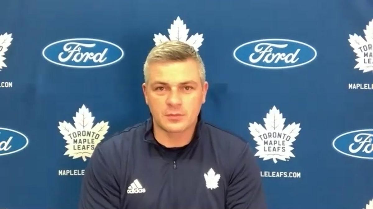 Leafs' Keefe Updates Status of Matthews and Thornton