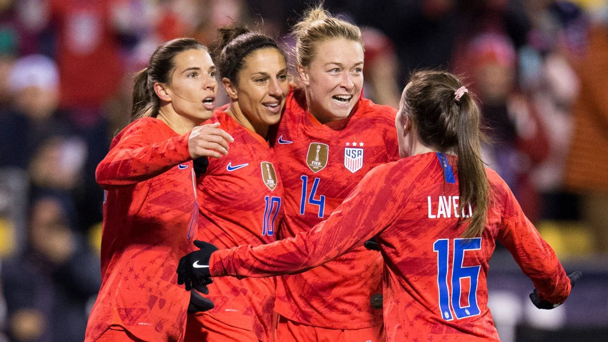 USWNT Opens Olympic Qualifying With Heavy Hearts, Renewed ...