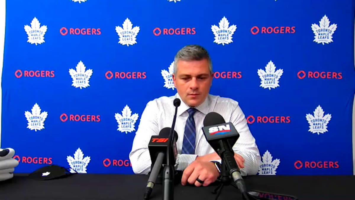 Maple Leafs' Keefe Updates Status of Jake Muzzin and Travis Dermott